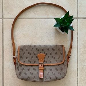 Dooney & Bourke Canvas & leather Shoulder Bag